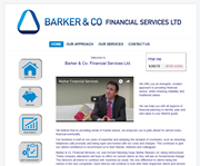 Website design: Barker & Co. Financial Services Ltd.